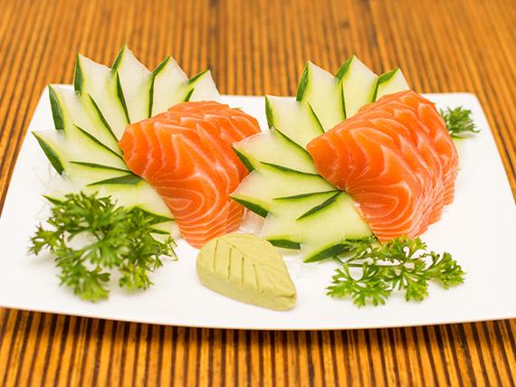 Sashimi sake (5 unidades)
