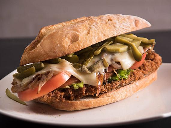 Sándwich de milanesa Córdoba