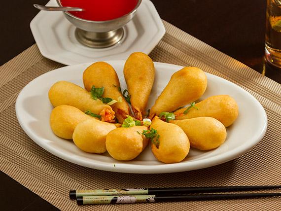 Camarão empanado (porção)