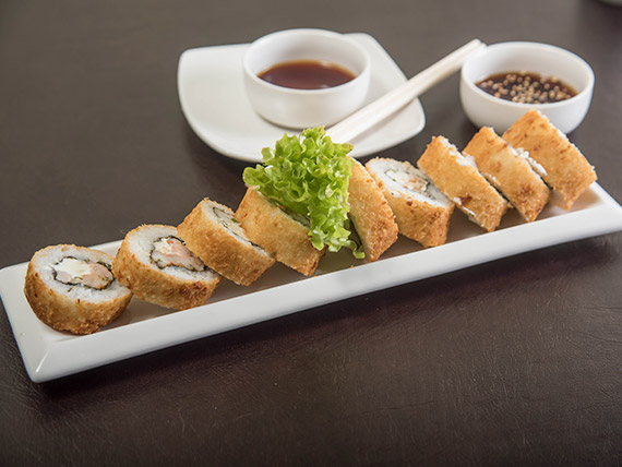 Ebi tempura roll (9 bocados)