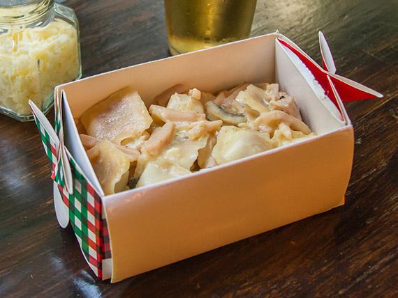 Promoción - Pasta rellena + salsa a elección
