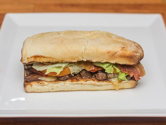 Burger filé barbecue picante