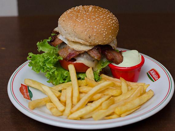 Hambúrguer - americano