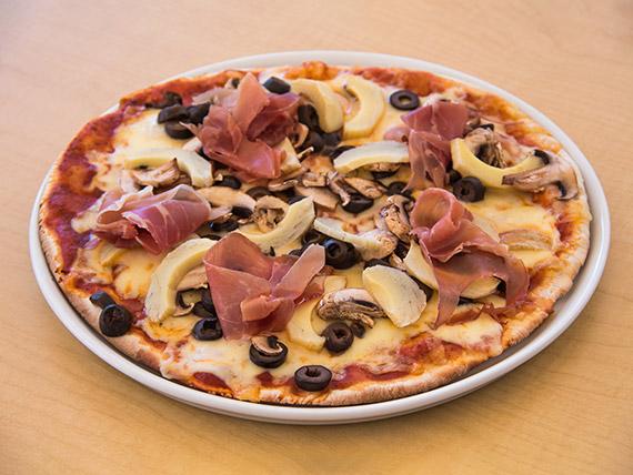 Pizza Capricciosa familiar (40 cm)