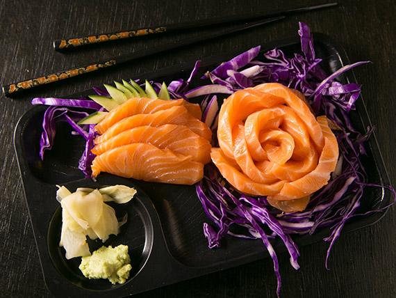 Sashimi salmão (4 unidades)