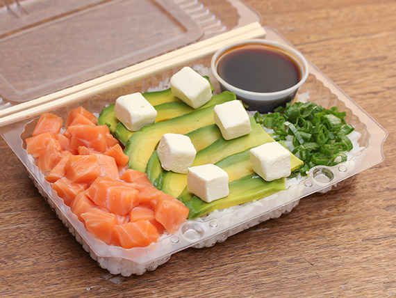 Gohan salmón 500 gr