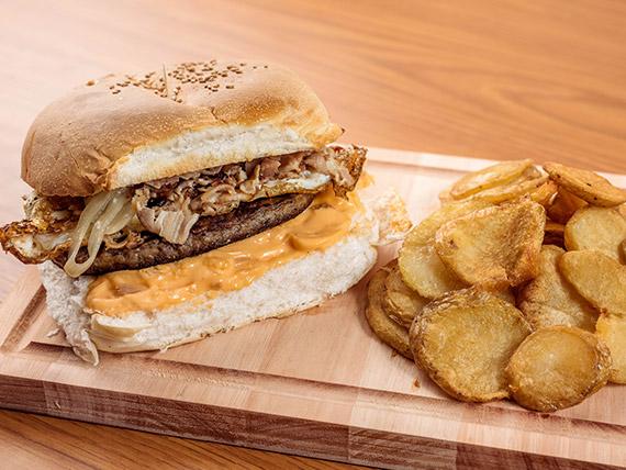 Sándwich de hamburguesa CGR