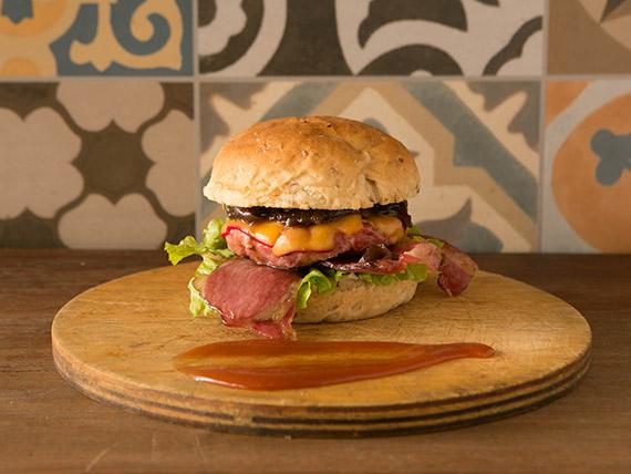 Bacon is pork burguer