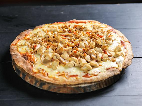 Pizzeta gourmet pollo grande