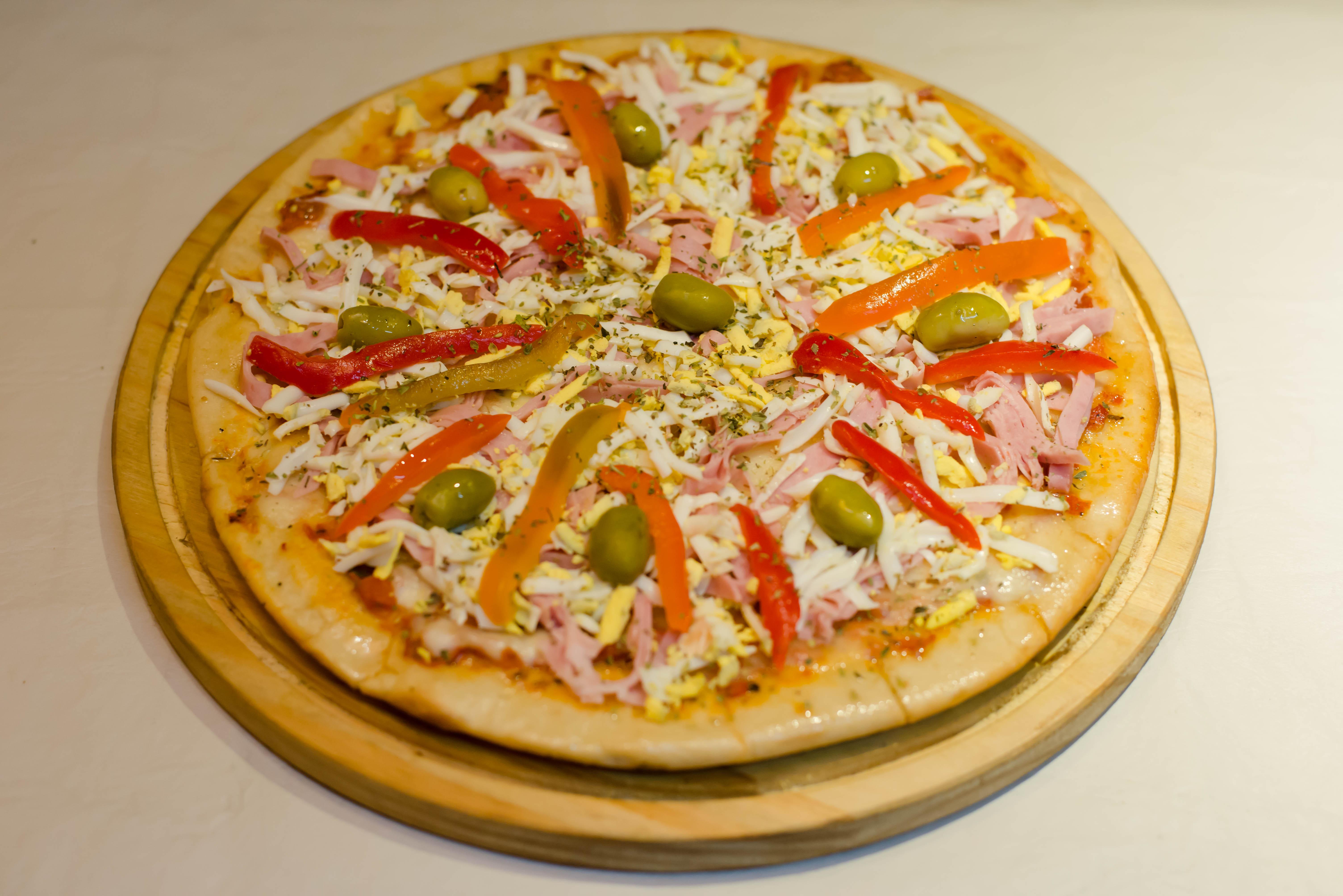 Pizza primavera especial
