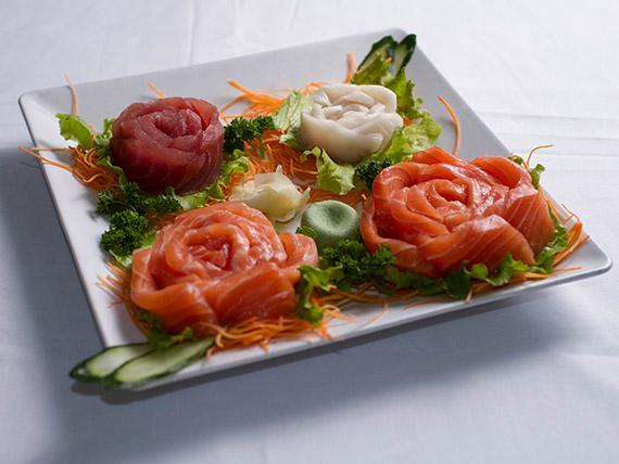 Combinado especial de sashimis (48 unidades)