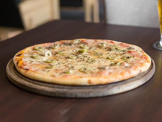 Promo especial - Pizza muzzarella (10 porciones)