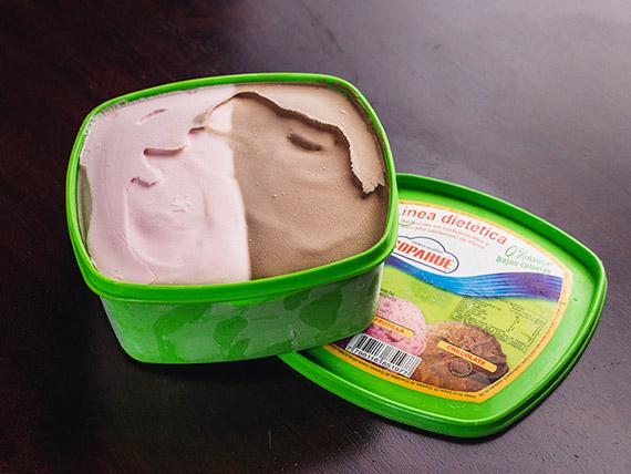 Linea dietética - Pote de helado 1 L