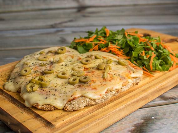 800 - Pizzanezza con mozzarella