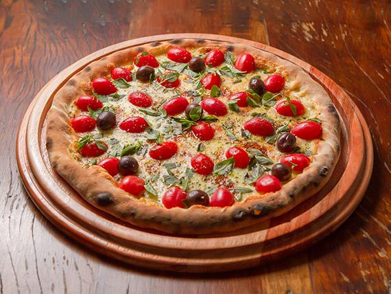47 - Pizza tomate cereja