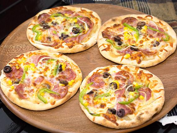 Pizza à moda broto