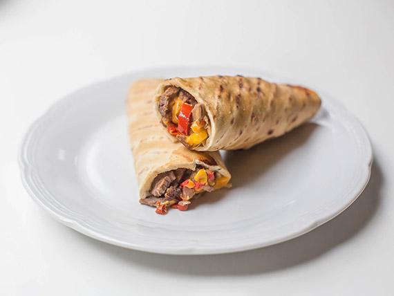Roll clásico de carne