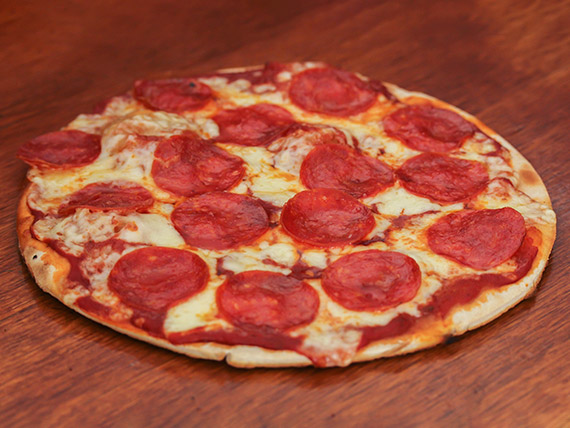 Pizza extra pepperoni