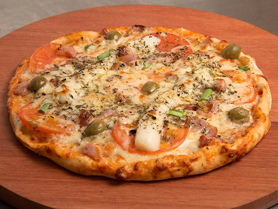 Pizza basca média