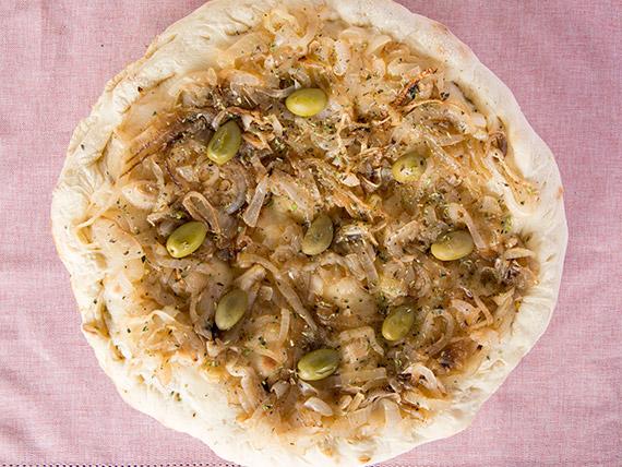 47 - Pizza fugazzeta tradicional rellena