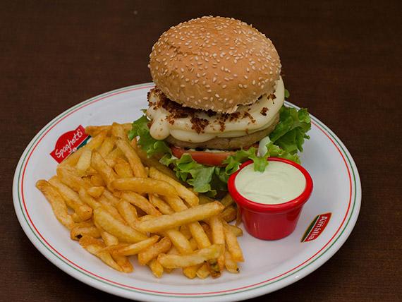 Hambúrguer - supreme chicken