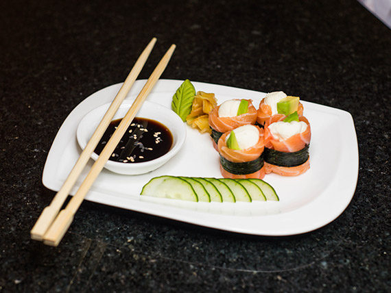 Geisha de salmón (8 piezas)