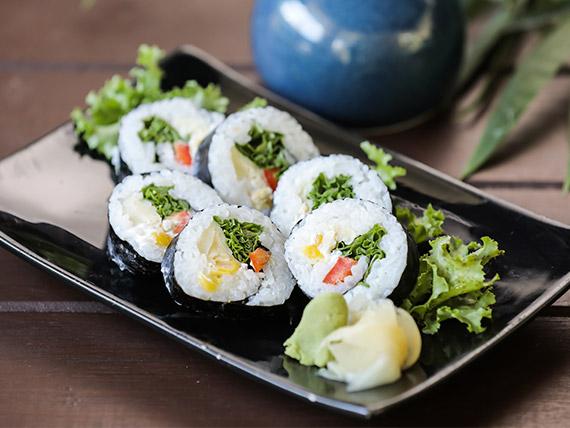 Maki vegetariano (6 piezas)
