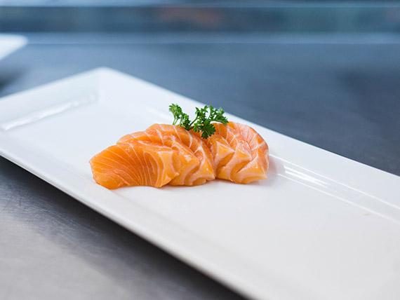 Sashimi salmón (5 cortes)