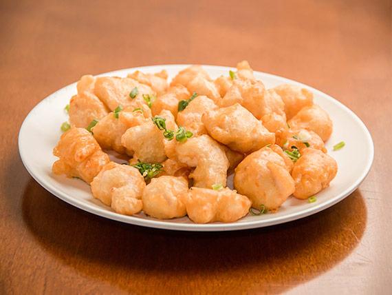 Porção de peixe empanado (12 unidades)
