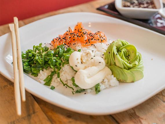 Sushi al plato