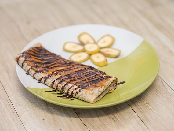 Crep de banana split