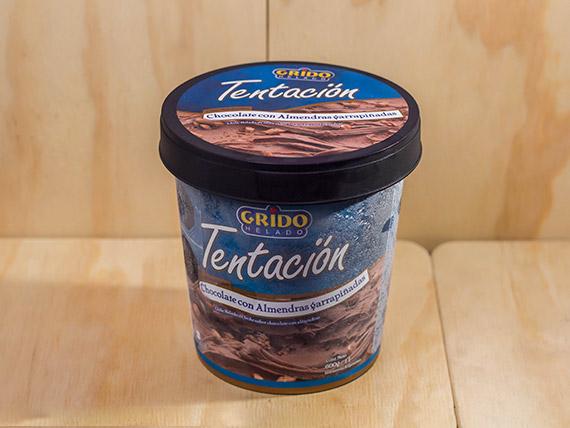 Tentación de chocolate con almendras Grido 1 L