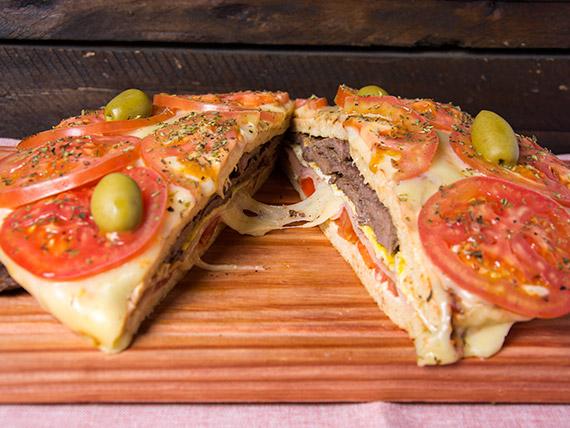 Lomo pizza carne napolitano