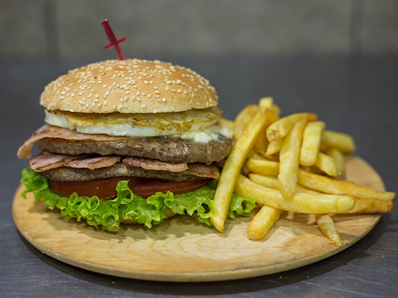 Hamburguesa la super Say