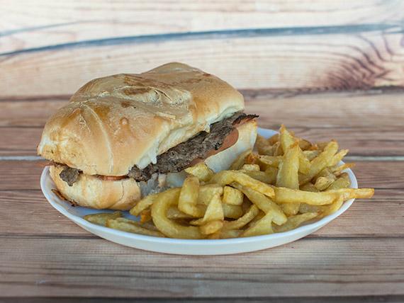 Sándwich de lomo común