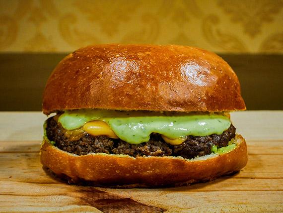 Hambúrguer maionese especial
