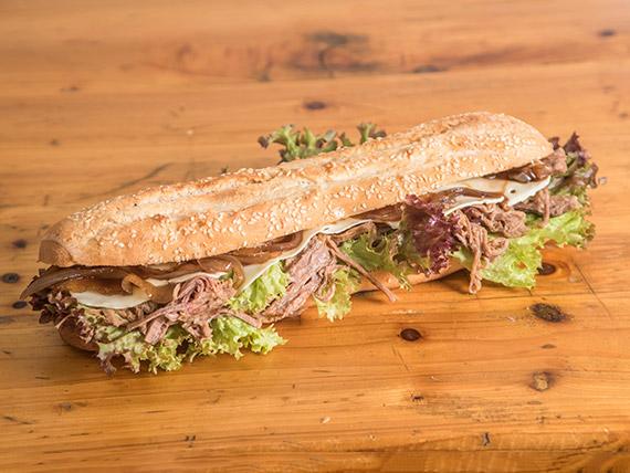 Sándwich de mechada