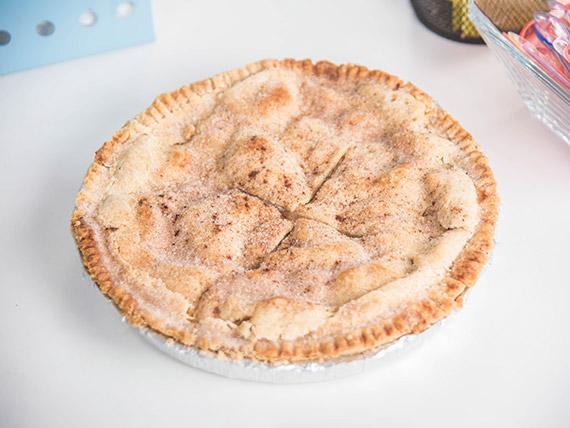Cake de apple pie