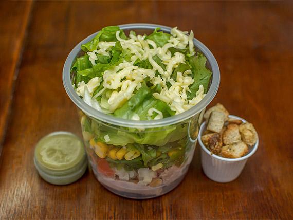 Salada roast beef (250 kcal)