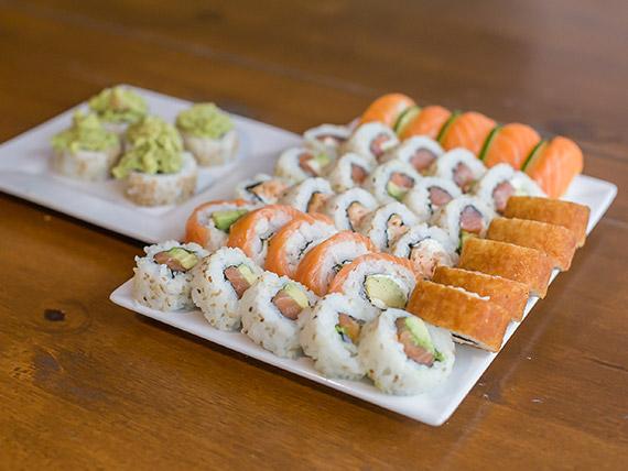 Promo 5 - Todo salmón (40 piezas)