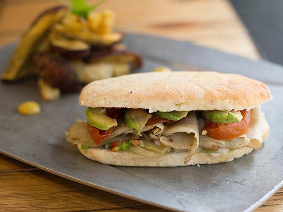 Sándwich go vegan