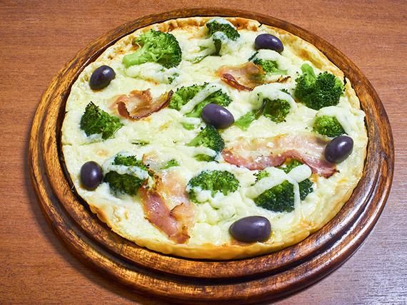 Pizza brócolis
