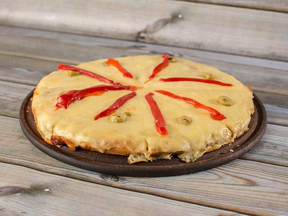 Pizza especial al molde