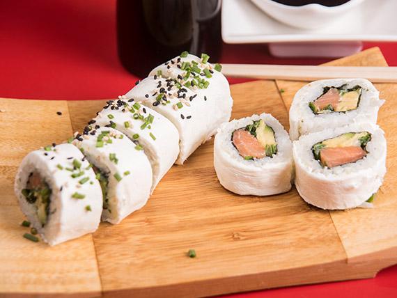 Cheese sake roll (8 piezas)