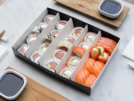Combinada All salmón (30 piezas)