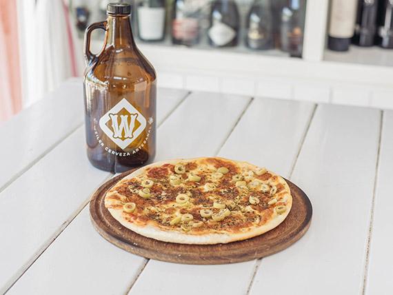 Promo - Pizza muzzarella + jarra de cerveza