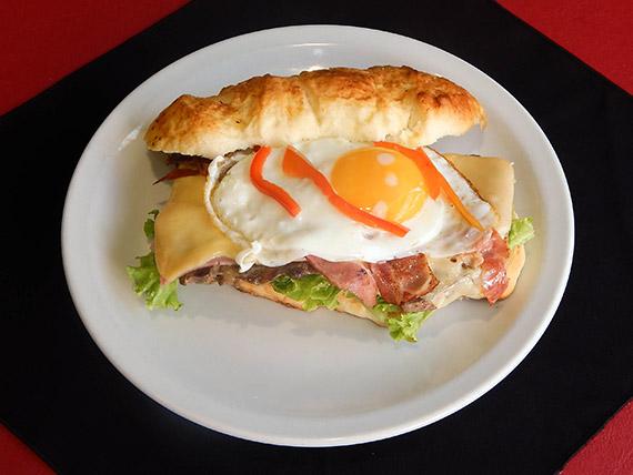 Sándwich súper