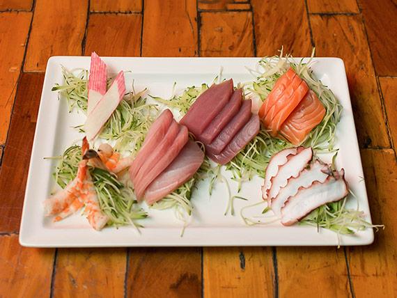 Combinado kazuki sashimi (22 peças)