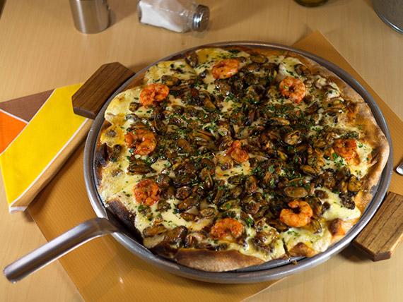 Pizza frutos del sublime mar