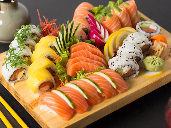 Combo Kobe salmón (30 piezas)